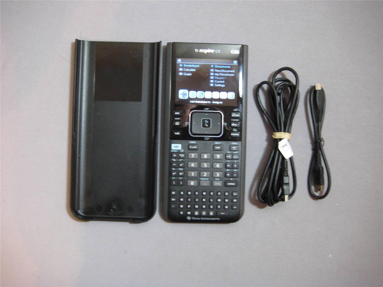 Ti Nspire Cx Cas Graphing Calculator New No Box Bulk