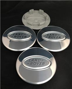 Land Rover Defender Svx Chrome Alloy Wheel Centre Hub Caps