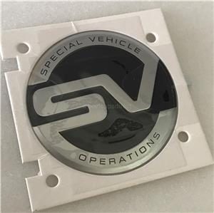 Genuine LAND ROVER SVO Special Vehicle Operations Side Pillar Emblem L494 L405