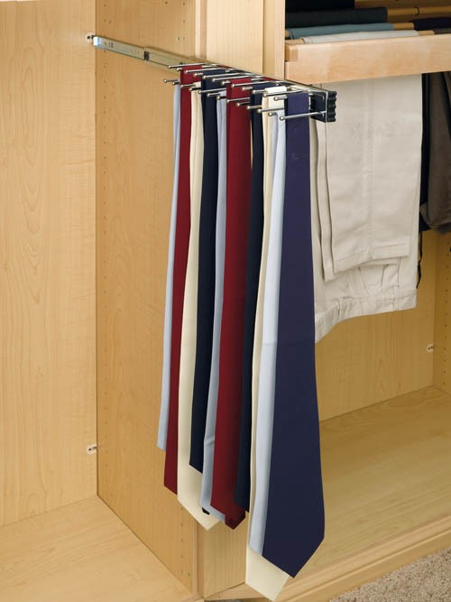 Rev A Shelf 12 Quot Tie Organizer Side Mount Pullout For