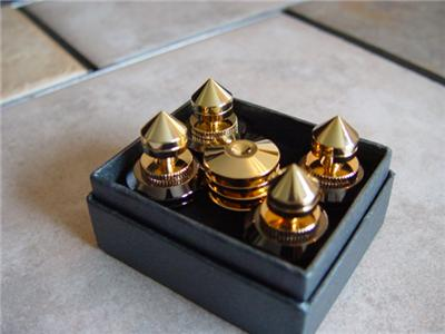 4 Sets Of Isolation Cones Speaker Spikes Component Feet Ebay