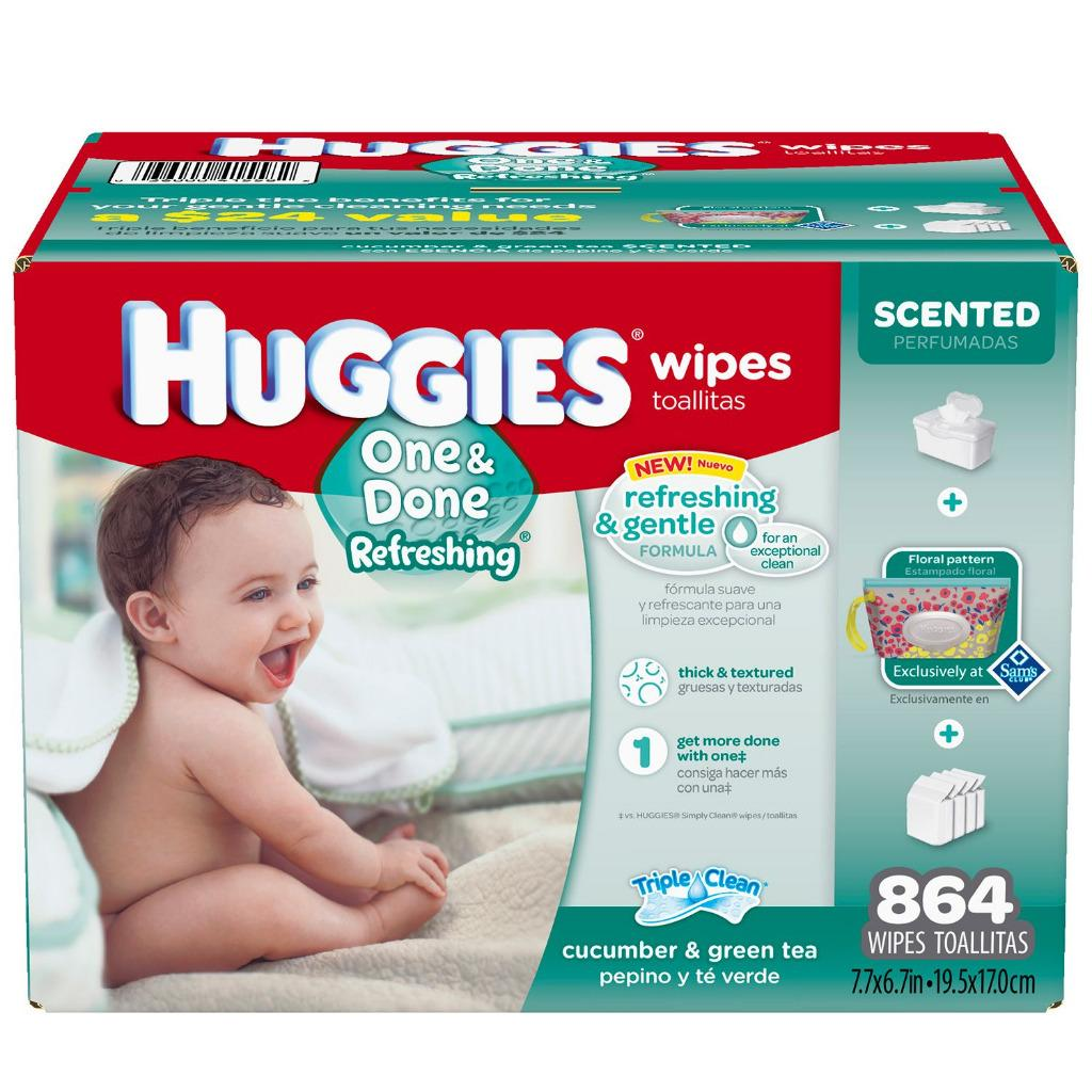 Huggies Natural Refreshing Baby Wipes Choose Your Kind