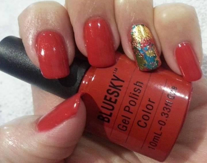 Bluesky Gel Polish Hollywood Red Carpet 80521 Needs Uv Led Nail Lamp To Cure