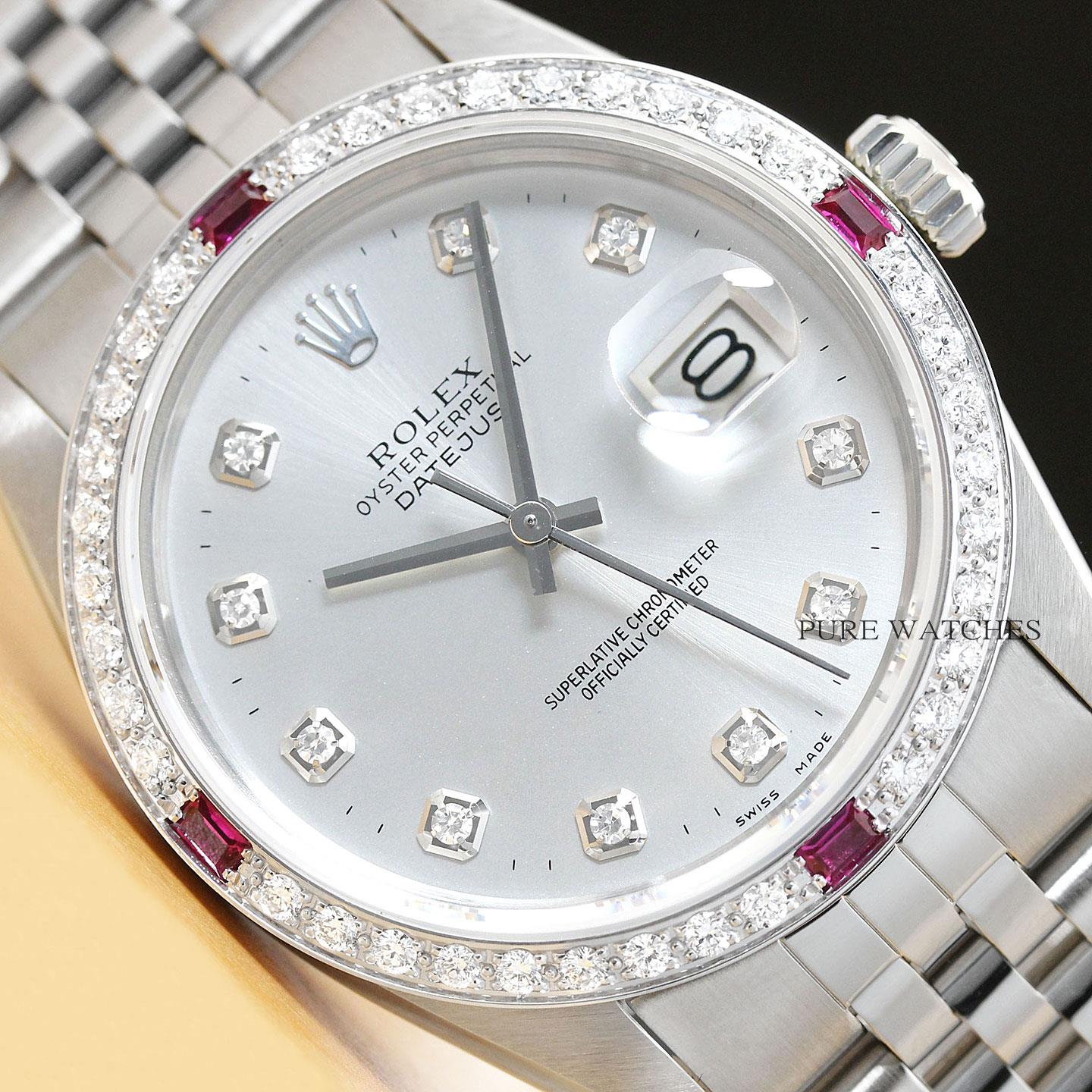 5eb68f14b2b This is an authentic Rolex watch with an original Rolex stainless steel  jubilee bracelet