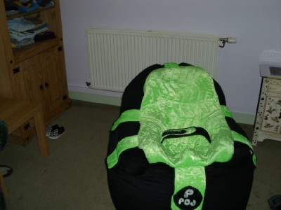P Pod Seat System Disabled Special Needs Bean Bag Chair