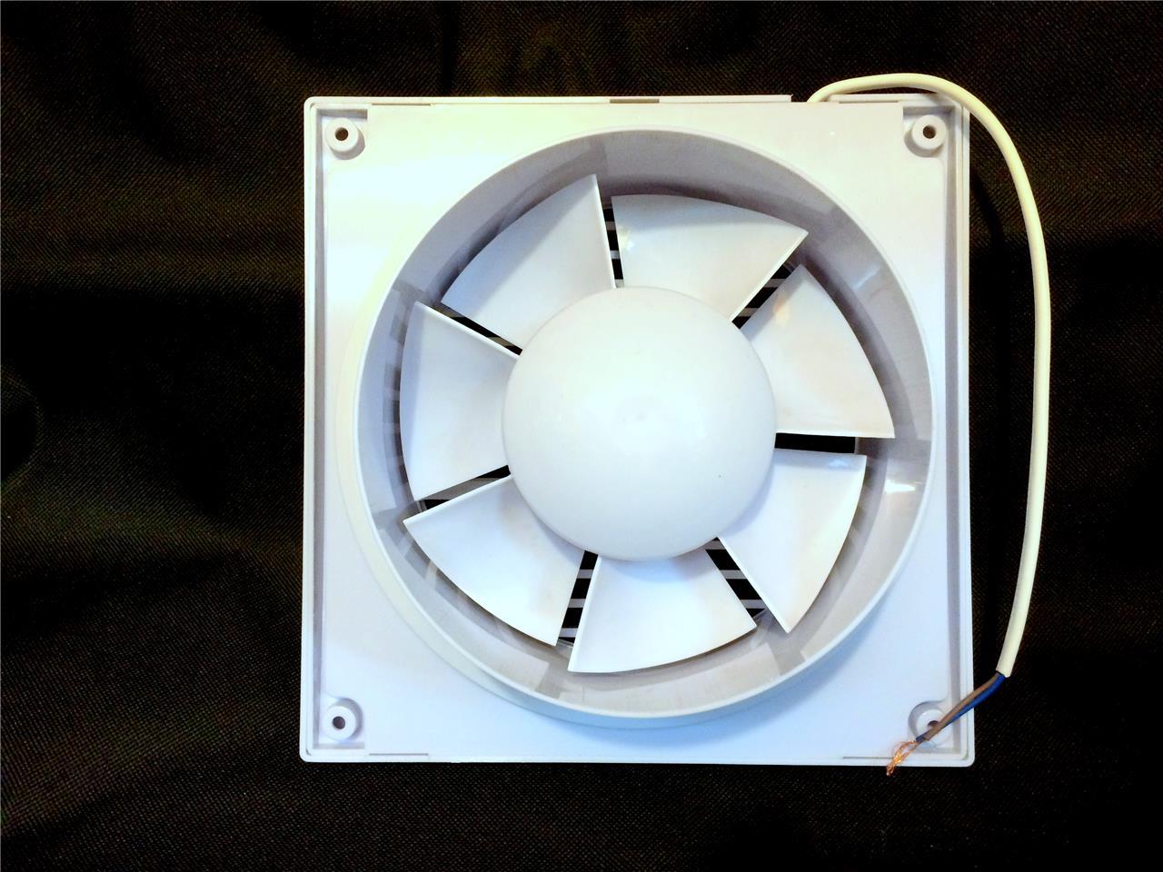 wandventilator l fter abluft ventilator k che wc bad leise 15w 100 mm 4 ebay. Black Bedroom Furniture Sets. Home Design Ideas