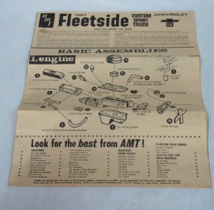 1967 Chevy Chevrolet AMT Kit Model Truck 1967 1972 Pickup or Tow