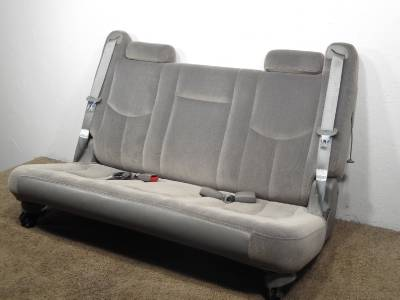 replacement suburban yukon xl oem 3rd third row seat grey 2000 2001 2002 2003 2004 2005 2006. Black Bedroom Furniture Sets. Home Design Ideas