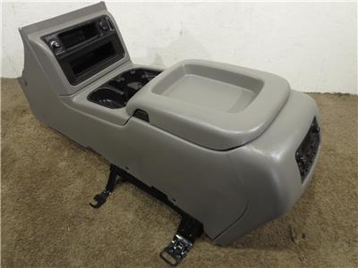 Oem Center Console Grey In Color Medium Dark Pewter