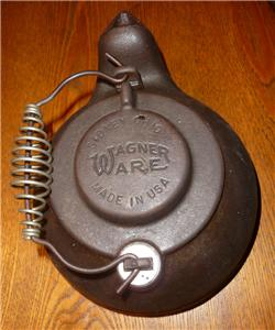 Wagner Ware Tea Kettle Cast Iron Humidifier Wood Stove