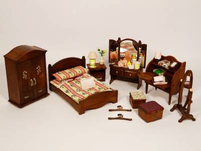 sylvanian families master bedroom sylvanian families luxury master bedroom furniture set ebay 17450