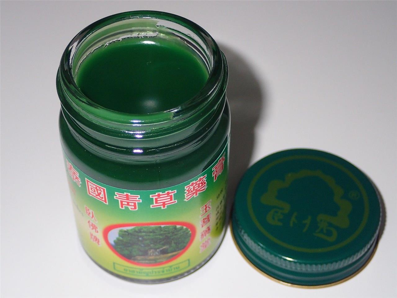 15-Or-50-Grams-Of-Original-Thai-Balm-100-Natural-Thai-Herbal-Green-Massage-Balm