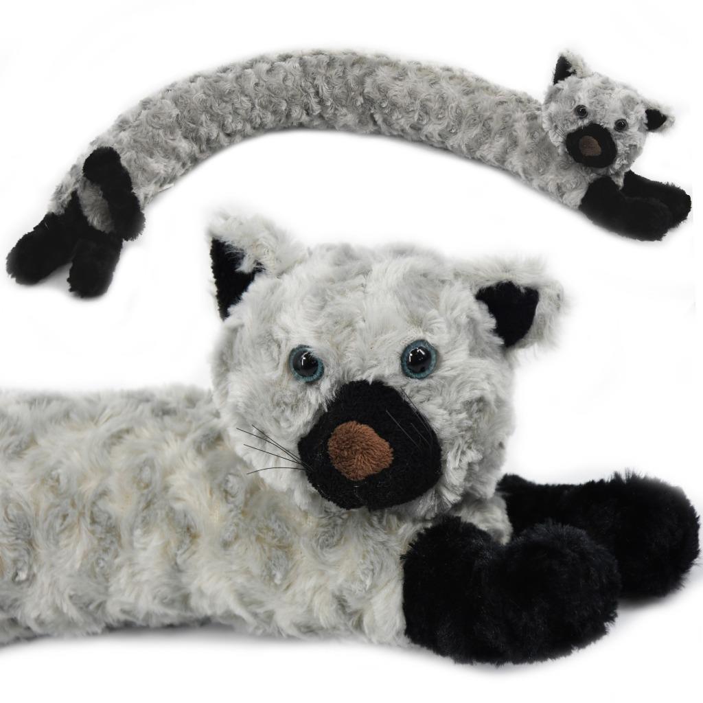 Nouveauté tirant chasse-chien chat design tissu polaire projet porte bouchon Coussin