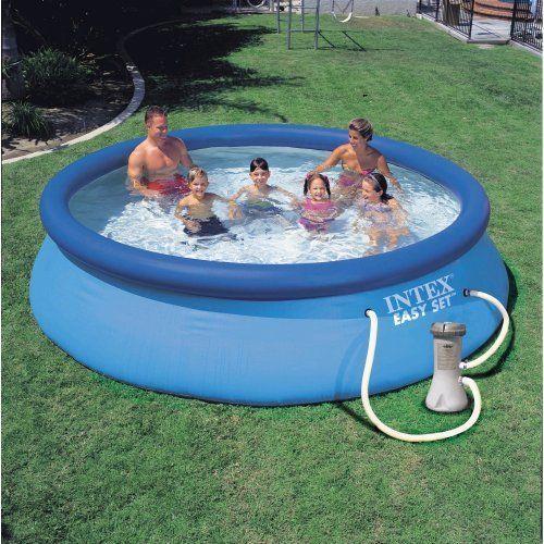 Intex 12 X 30 Inch Easy Set Pool Amp Filter Pump