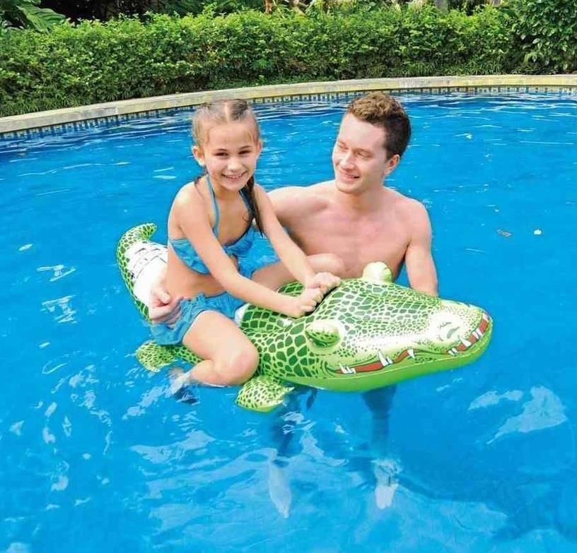 riese gator gro aufblasbar krokodil strand lilo rutscher schwimmbad spielzeug ebay. Black Bedroom Furniture Sets. Home Design Ideas