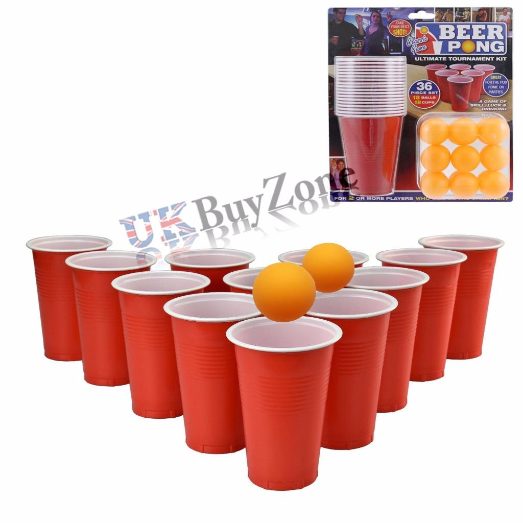 beer drinking games with cups