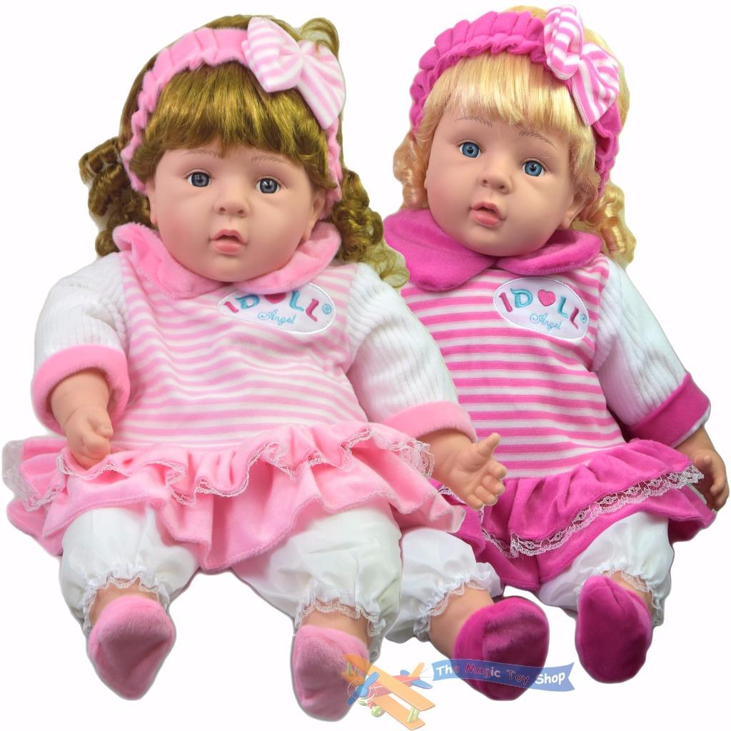 24 Quot Lifelike Large Size Soft Bodied Chubby Baby Doll Girls