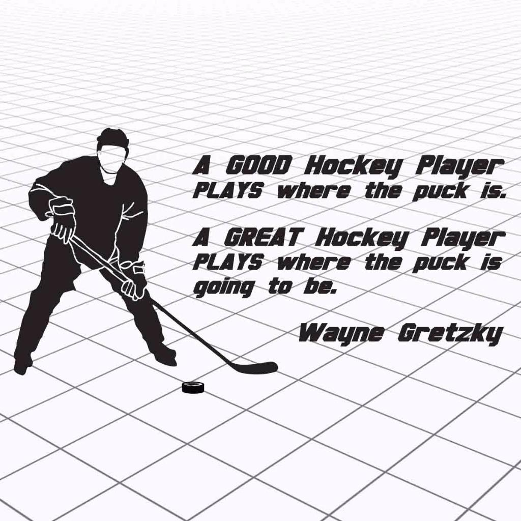 Wayne Gretzky Citation Vinyl Wall Decal sticker HOCKEY