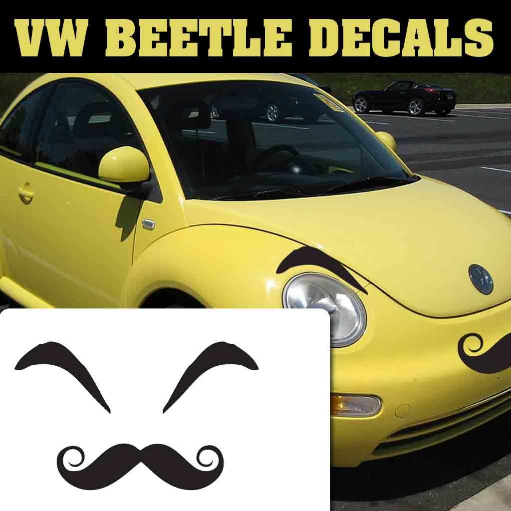 vwbug angry lash vw beetle eyelashes  lips vw angry eyelashes lips decals ebay