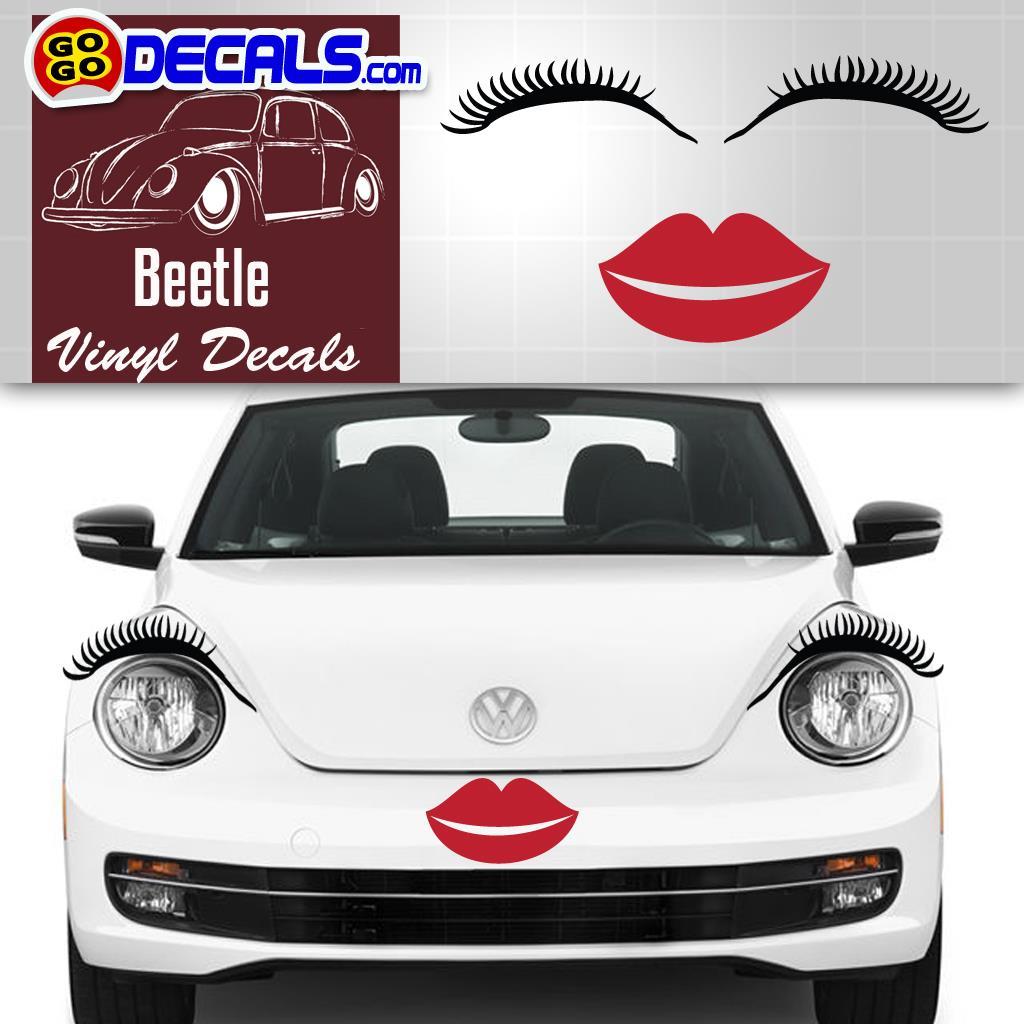 Car Eyelashes Round Headlights, Car Eyelashes, Car Light