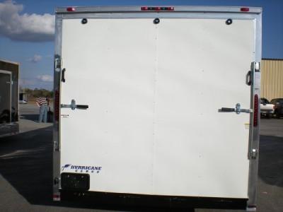 Commercial Duty Enclosed Cargo Trailer Car Hauler, Racing, 8.5 26