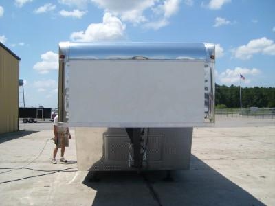 Gooseneck Enclosed Cargo Trailer Car Auto Hauler  8 36 8.5