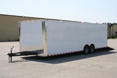 5x28 Cargo Enclosed Trailer Car Hauler Screwless One Piece Roof 5200