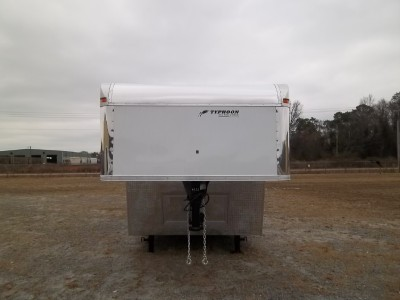 ENCLOSED CARGO AUTO CAR HAULER RACE TRAILER 21,000 GVWR 102x48