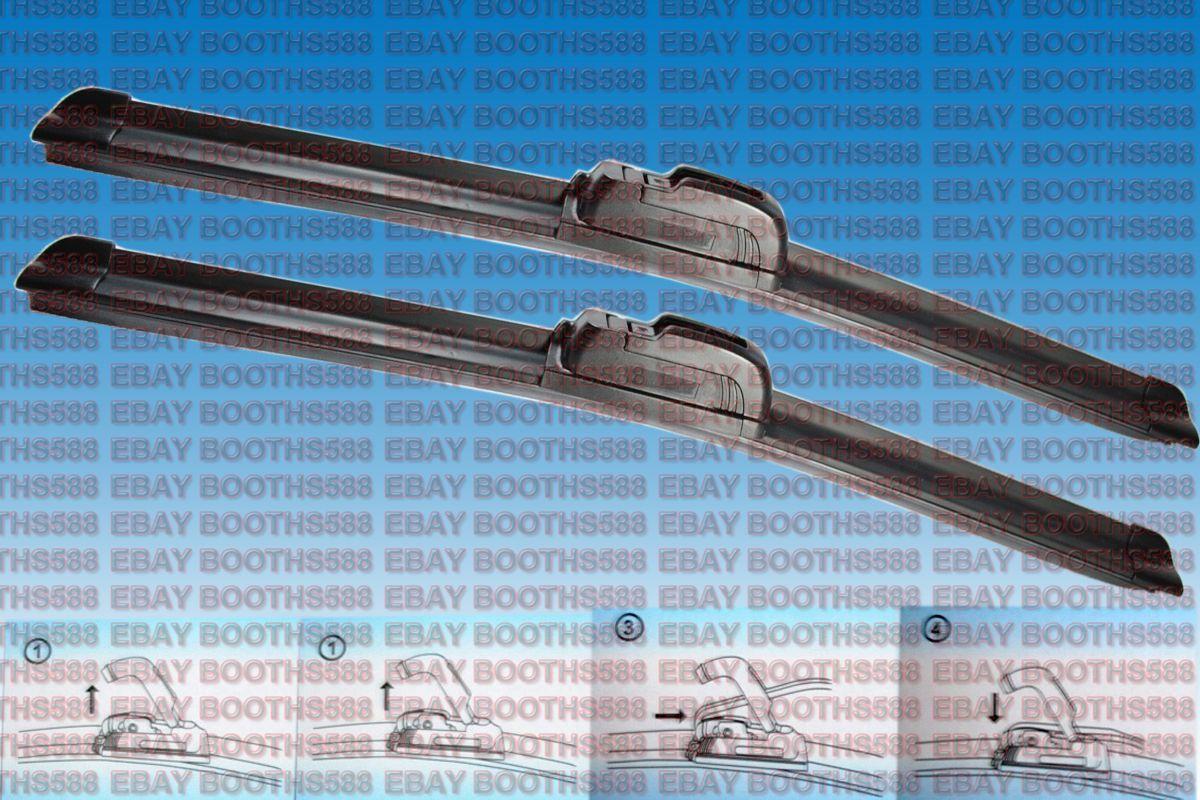 Citroen C-Crosser Van Aero VU Front Flat Window Windscreen Wiper Blades