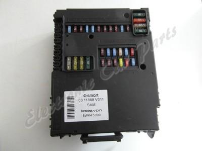 smart fortwo fuse box, 0011868v011, 5wk45090 (mod1145e) | ebay fuse box on a smart car