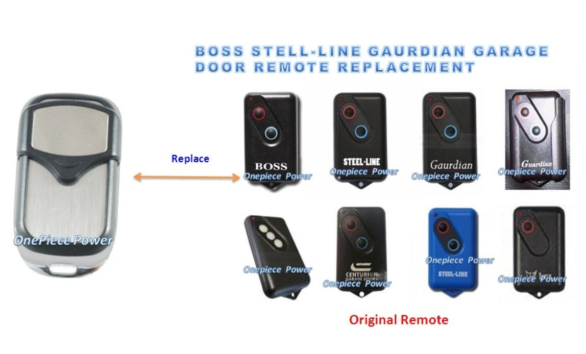 High Quality Boss Guardian Steel Line Garage Door Remote