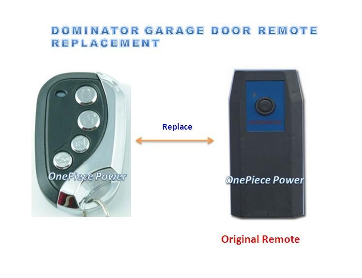 Dominator Garage Door Remote Control Door Opener 315mhz