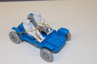 VINTAGE PLASTIC LUNAR ROVER FROM TANG NASA SPACE ...