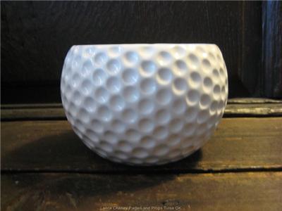 Golf Ball Shaped Planter Vase Sports Golf Theme Party Centerpiece Decoration Ebay