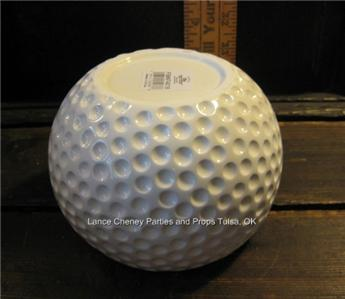 Large Golf Vase Planter Sports Golf Theme Party Centerpiece Decoration Golf Ball Ebay