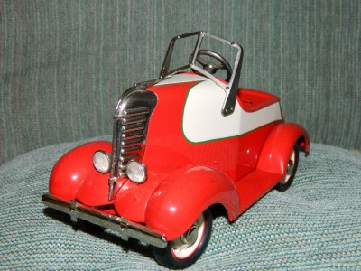 Galleries Kiddie Car Classic Pedal Car 1938 Garton Lincoln Zephyr On
