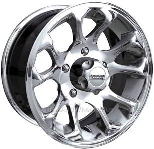 racing american burst lug chrome 16x8 wheel jeep 6x5 5x5 pattern bolt wheels gm vehicles series quadratec