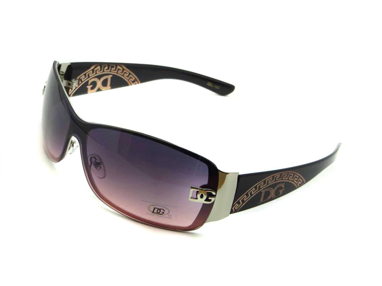 ec97bbde930 Womens Rimless Shield Sunglasses