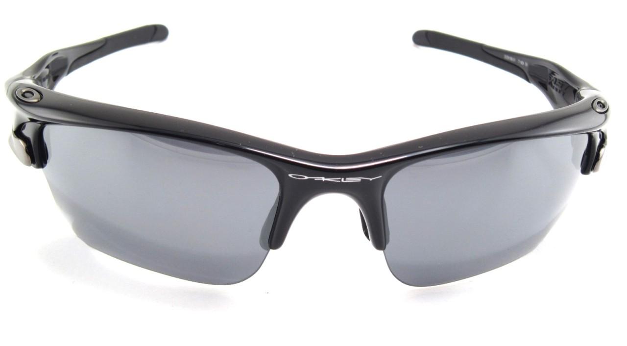 296f22e2990 Oakley Fast Jacket Xl Sunglasses Polished Black Black Iridium ...