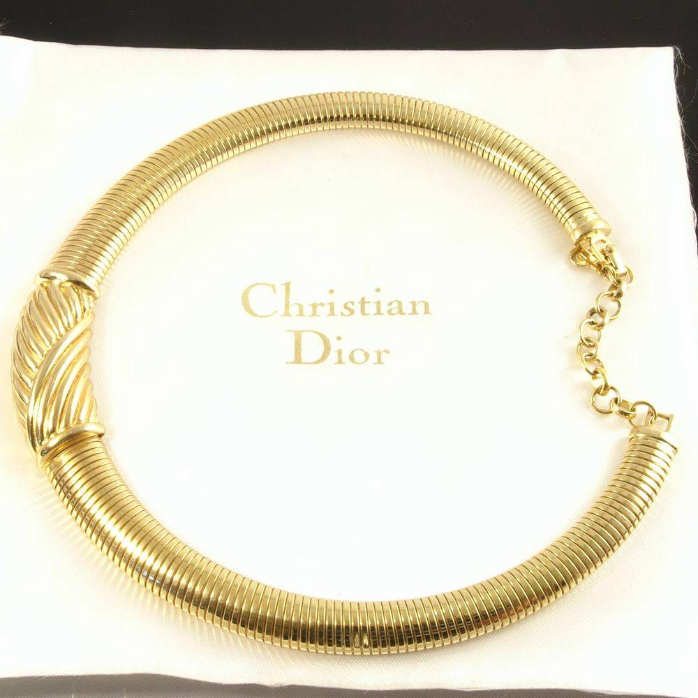 Necklace By Christian Dior Ebay