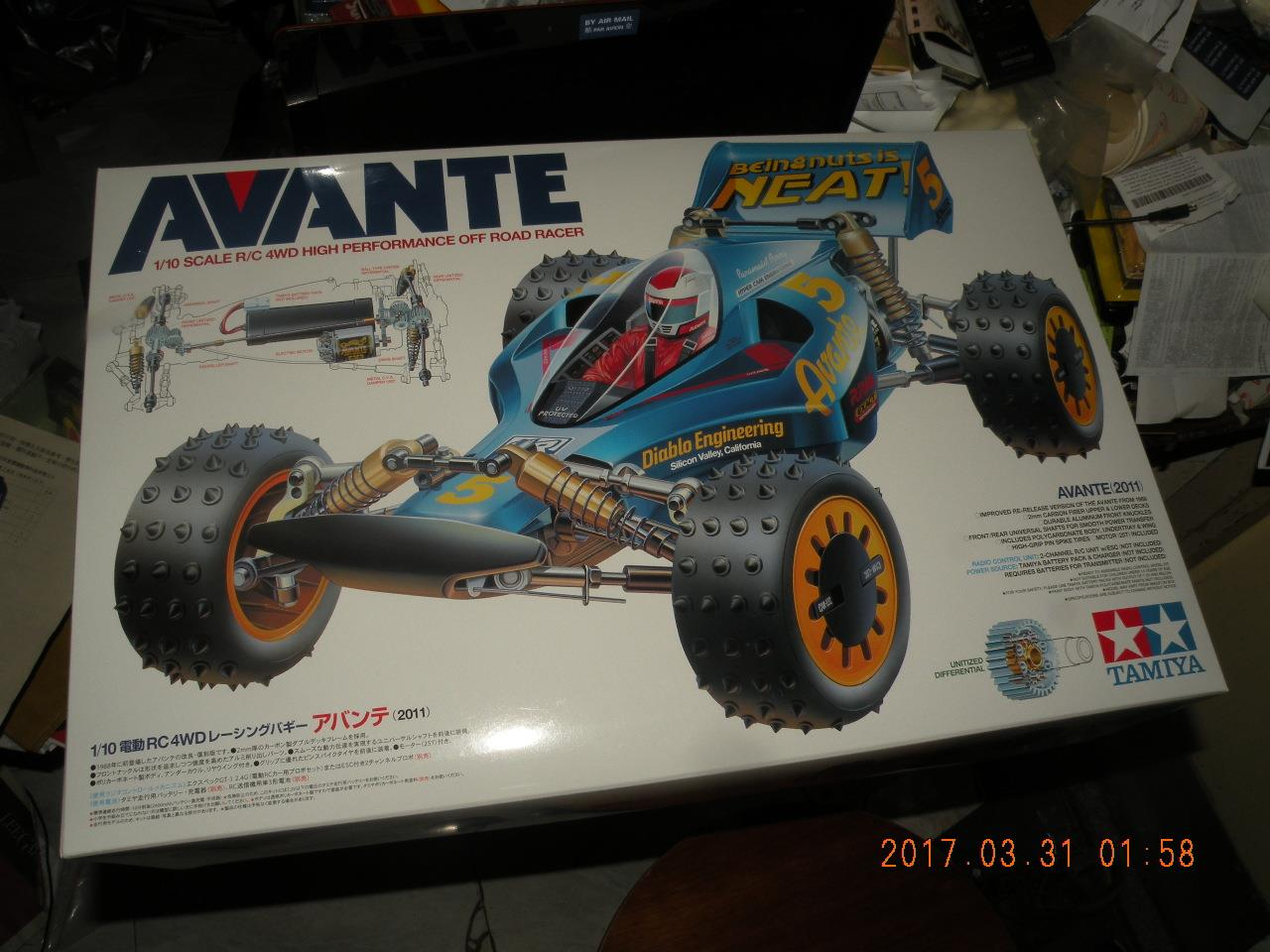 D-parts TAMIYA 1//10 AVANTE(2011