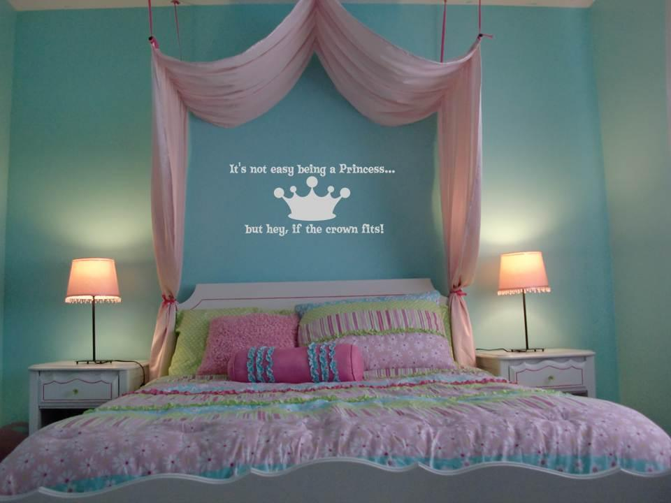 If The Crown Fits Princess Vinyl Wall Art Decal Sticker