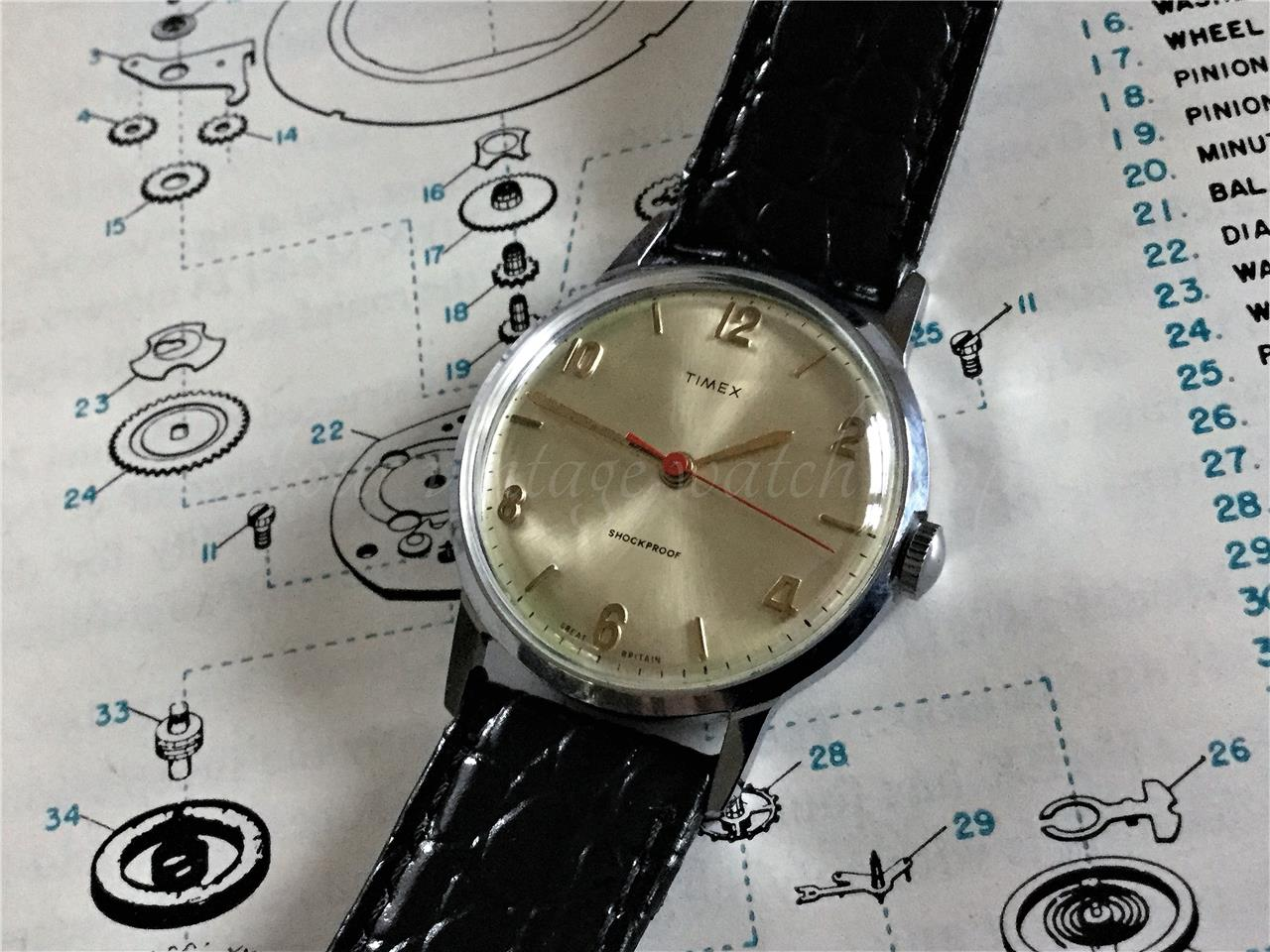 Vintage watch servicing sorry