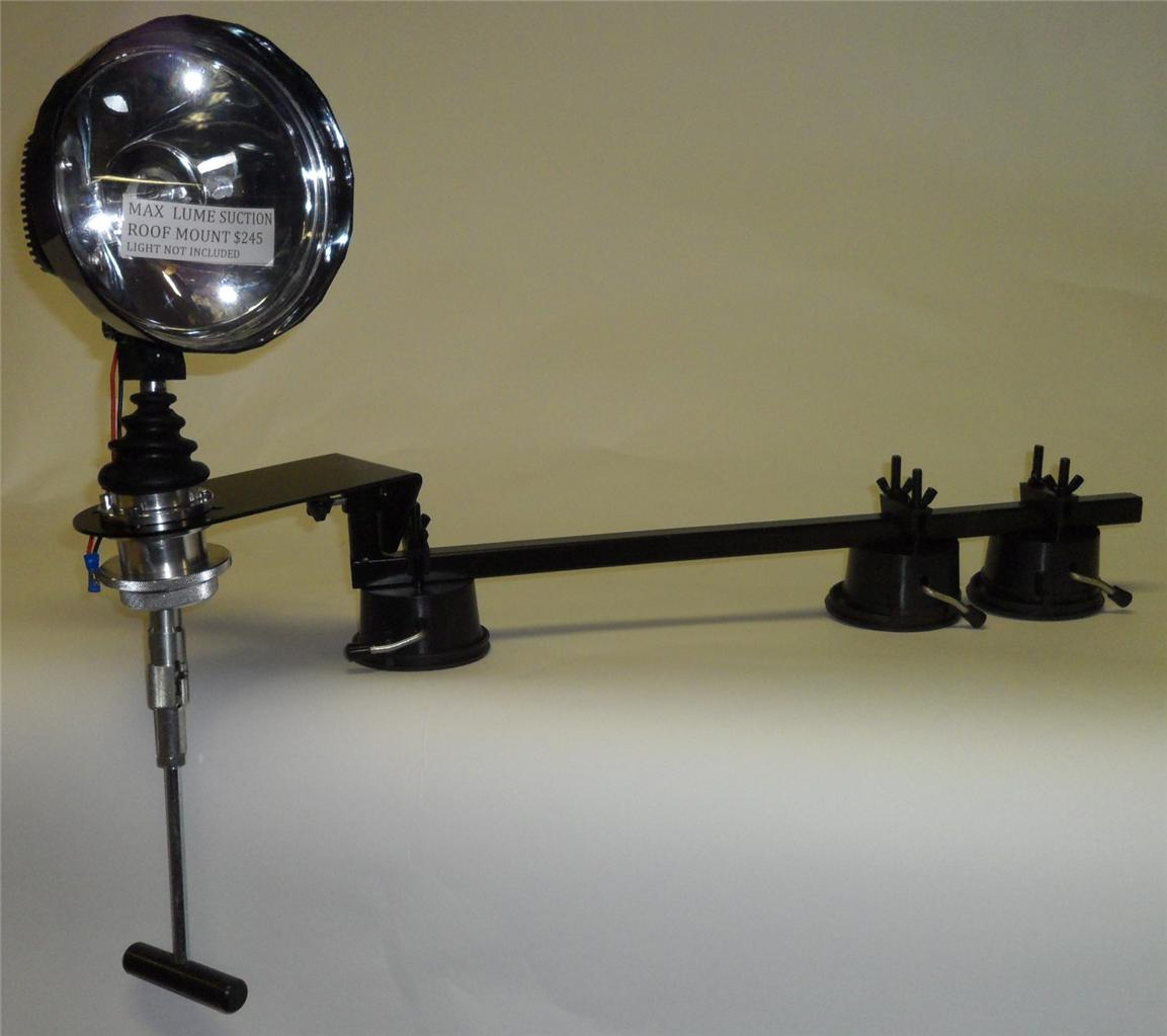 New Car Roof Spotlight Mount With Folding Remote Handle