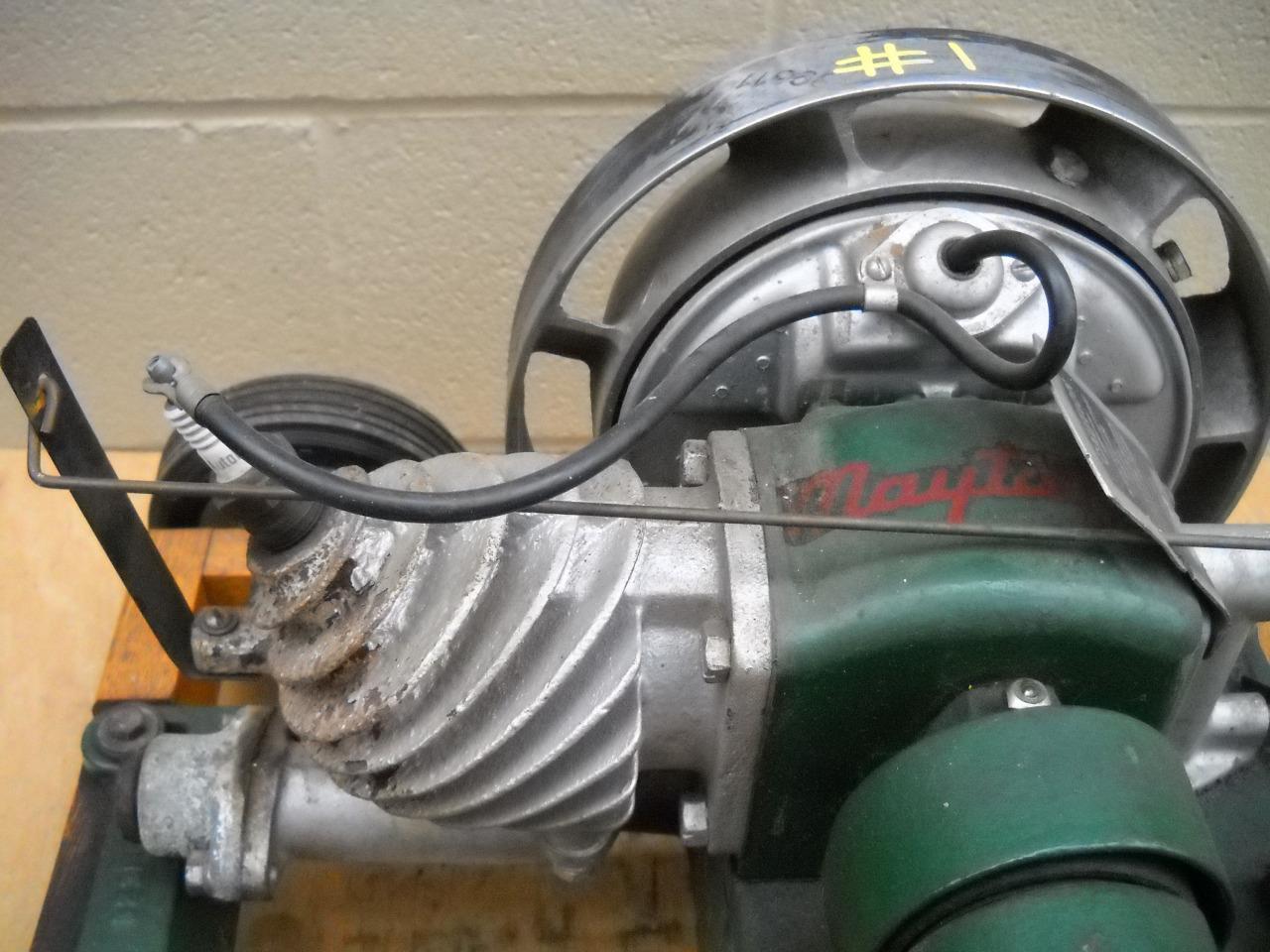 Maytag Model 92 31 Washing Machine Engine Single