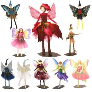 Fairy Figurine Figure Doll Woodland Butterfly Forest