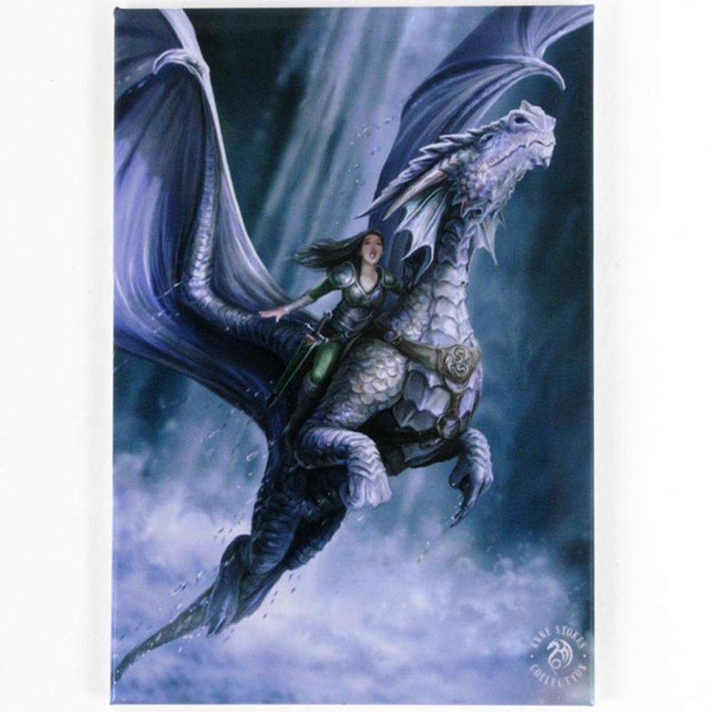 metal fridge magnets anne stokes fantasy mystical dragon rose owl unicorn gothic ebay. Black Bedroom Furniture Sets. Home Design Ideas