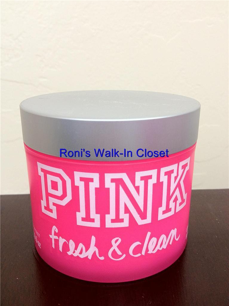 victoria 39 s secret new pink fresh clean body lotion body. Black Bedroom Furniture Sets. Home Design Ideas