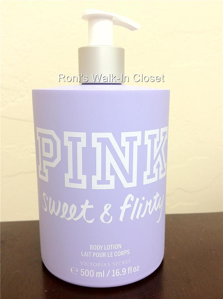 Victoria's Secret NEW! Pink Sweet & Flirty Body Mist, Body