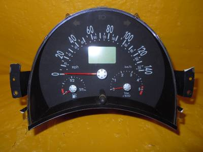 02 03 Beetle Speedometer Instrument Cluster Dash Panel Gauges 162 774